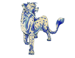 Orion- the White Cheetah by Gashu-Monsata