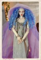 Ball jointed doll BJD 15 inch art doll Issabou LE by SutherlandArt