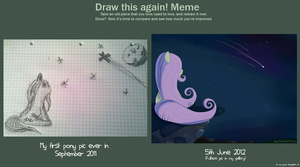 Draw it again meme! by Kiyoshiii