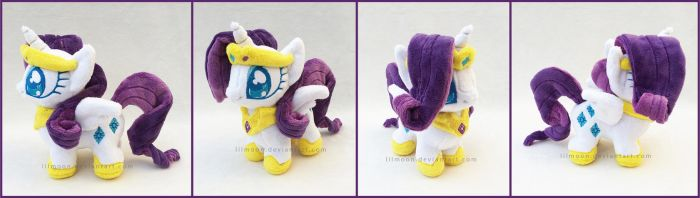 Mini Princess Rarity by LiLMoon