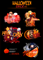 * HALLOWEEN PACK * by Mokamoon