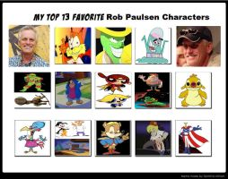 My Top 13 Favorite Rob Paulsen Characters by Toongirl18