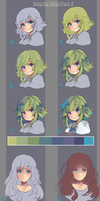 Step by Step Hair Part 3 by KyouKaraa