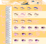 (SAI Tutorial) Coloring Eyes by Rainry