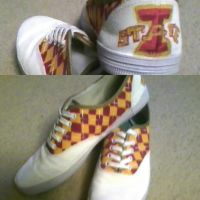Canvas Shoes by iheartart132