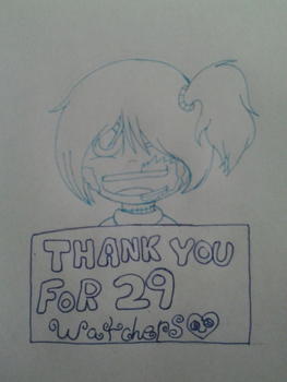 Thank You For 29! by CassieTheZombie