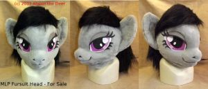 Octavia MLP Fursuit Head Pony - For Sale by AtalontheDeer