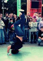 breakdance by czochrajbobra