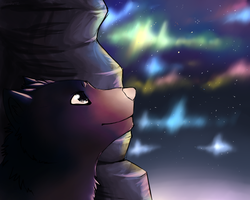 Stars Above The Cave by Shemha