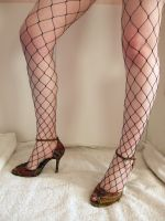 Leg - Fishnet Stock24 by NoxieStock