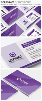 Corporate Business Card - RA71 by respinarte