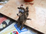 Polymer clay rigby by CabezaDeRevolver
