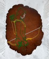 Arrow gingerbread cookie by The-Black-Panther