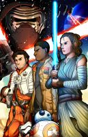 Star Wars: The Force Awakens by Smudgeandfrank