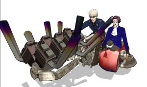 MMD they see me rolling... by Yuki2345
