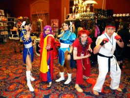 A-kon20 Street Fighter Cosplay by coffeejelly