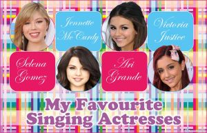 My fave singing actresses by HannahLouLou