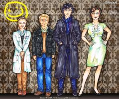 Sherlock: Height Comparison by ravenwing136