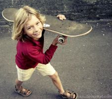 Mini skater II by Piou