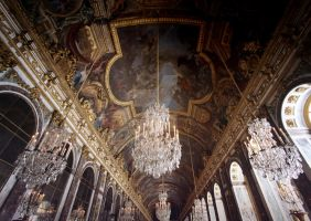 Versailles Hall of Mirrors by Michaella-Designs
