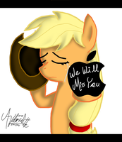 .EoH: AppleJack - Goodbye. by ZSparkonequus