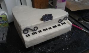 Piano Cake by edrick100