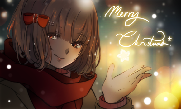 MAGE: Merry Christmas! by DustBunnyThumper