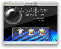 CrystalClear Interface 2.0 by marsmuse