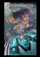 Cover of Apex Rush Issue 2 by KeithEKimball