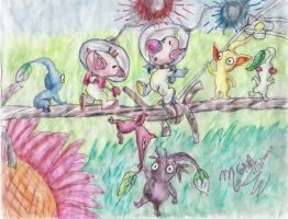 pikmin 2 by Sapphire-Light