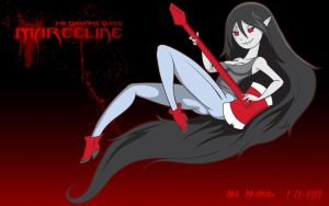 Marceline Wall by dinohunterx