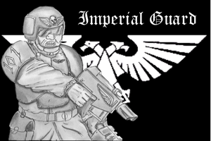 Imperial Guard Sergeant by ByTheDock