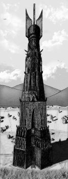 Isengard Tower by DoppiaErre