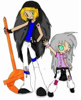 Humanoid ZEEK and Lainey by Happylod3