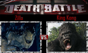 Zilla vs King Kong by SonicPal
