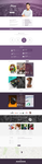Blogro - One page Personal Web Design by GokhanKara00