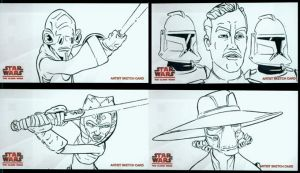 Clone Wars Widevision 4 by grahamart