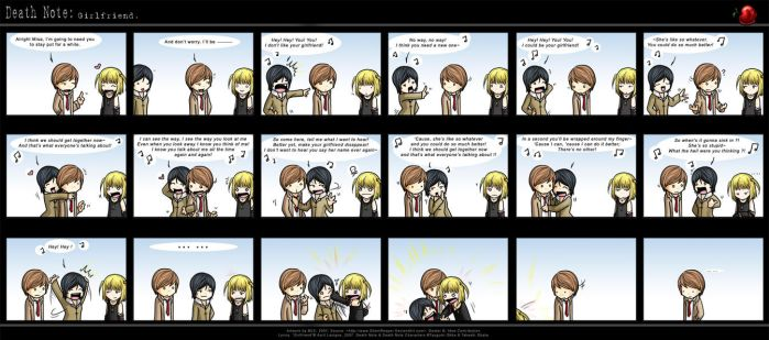 Death Note: Girlfriend. by SilentReaper