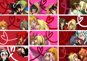 PP: Valentines Day Cards by SymphKat