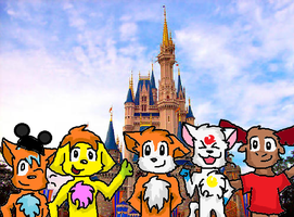 Disney World Group Picture by PuppyDawg1022