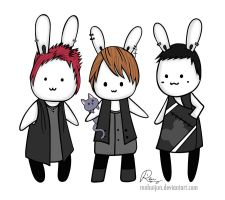 JYJ Bunnies by renhuijun