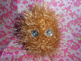 pin cushion monster no.1 by PinkuArt