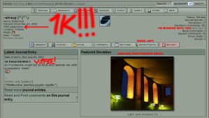 1000 PAGEVIEWS by art-exp