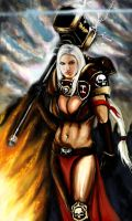 Sister Giny Hammertime by Mishai