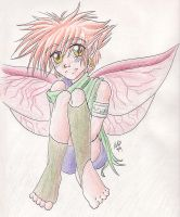 Fairy boy Colored by GenkiShuichi