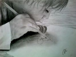 first drawing by vladena13