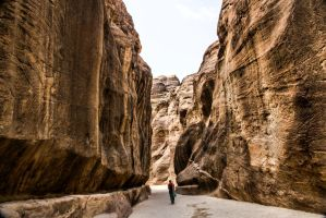 Entering Petra by ShlomitMessica