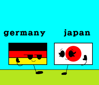 Germany And Japan by parkjongoun