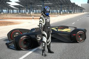 Chevy Chaparral Vision GT by NightmareRacer85