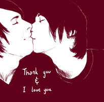 thank you for existing by upcomingdrawer